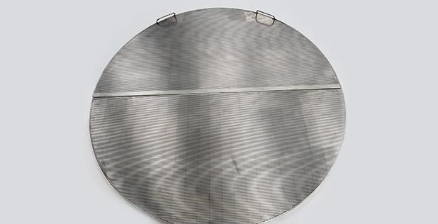 Wedge-wire-floor