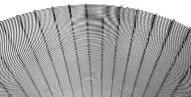 Welded-wire-rundown-screen